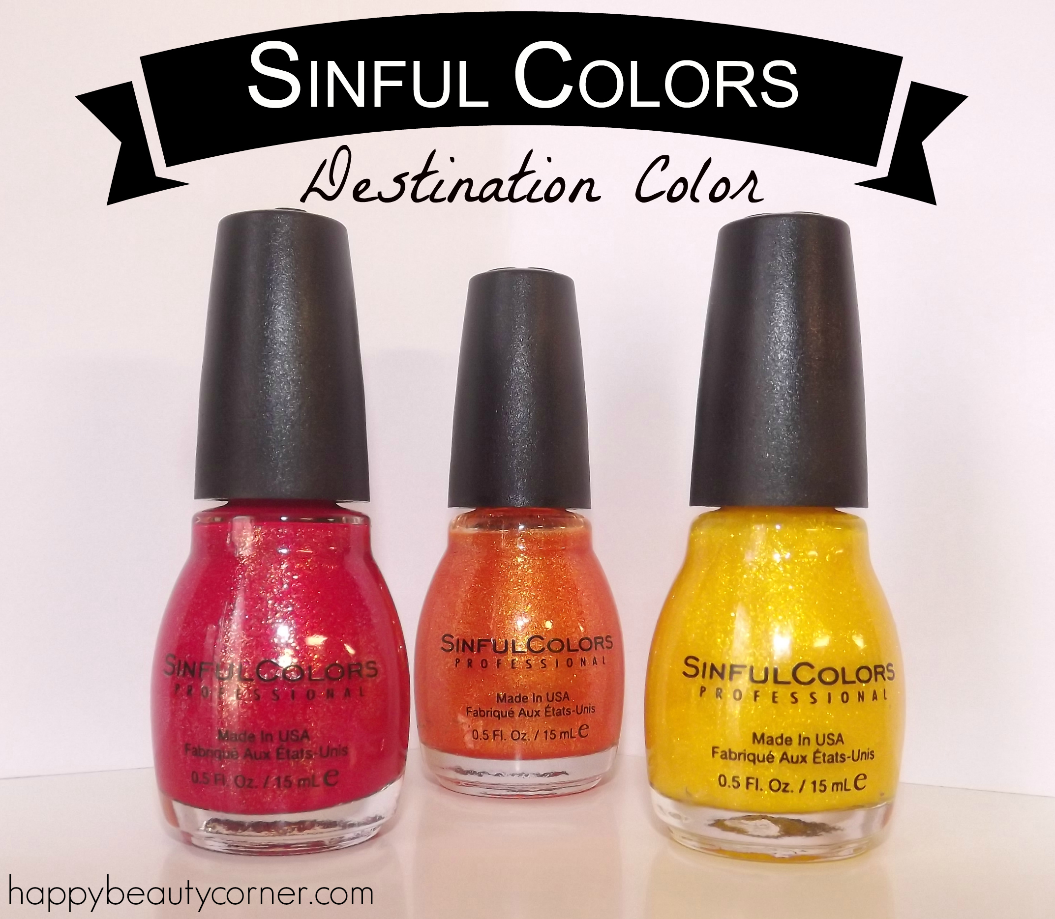 sinful colors vernis
