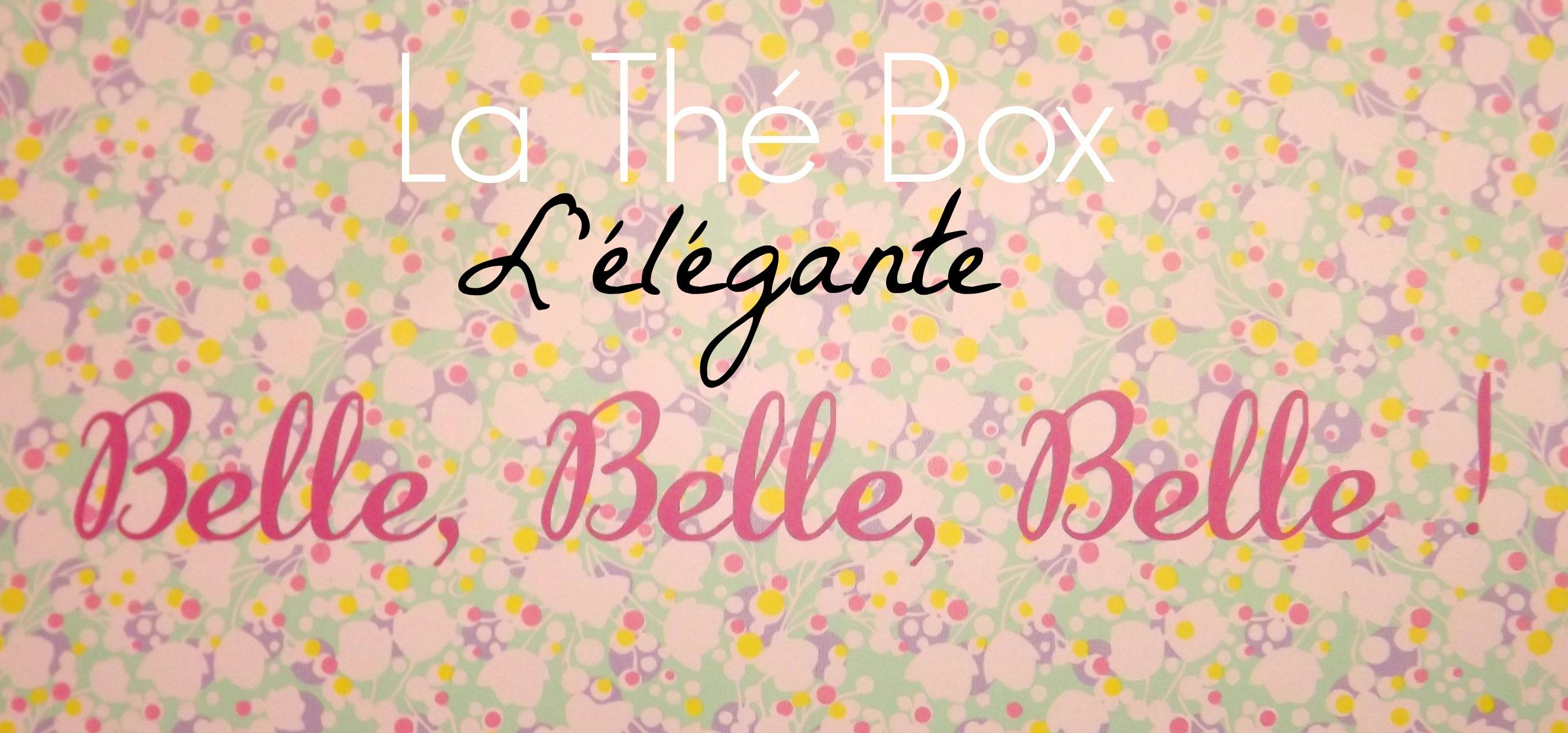 the box juillet