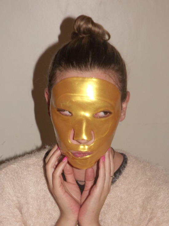 masque dorée larune