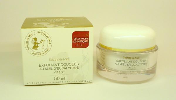 exfoliant douceur secrets de miel
