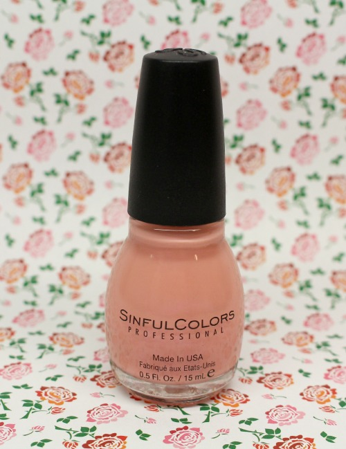 vernis nude rose sinful colors - Vernis Sinful Colors