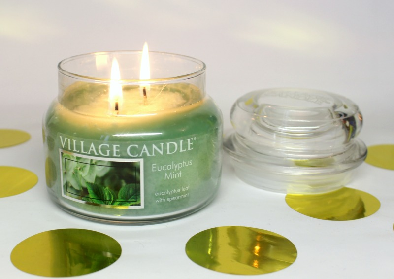 village candle bougie electron