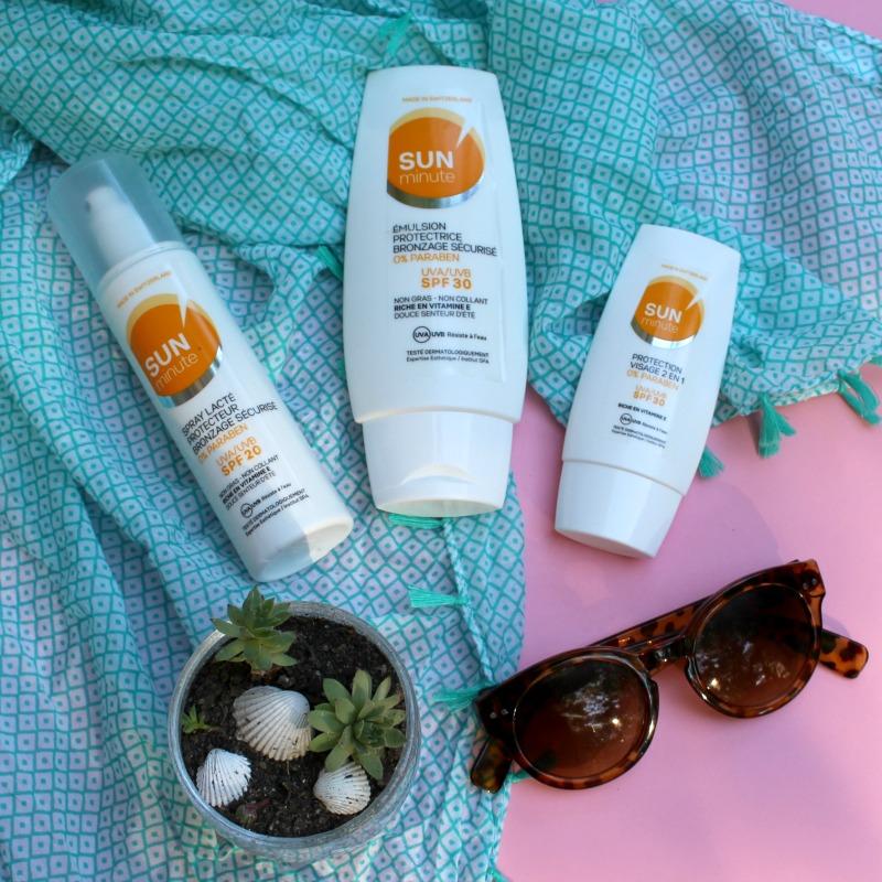 sun minute skin minute