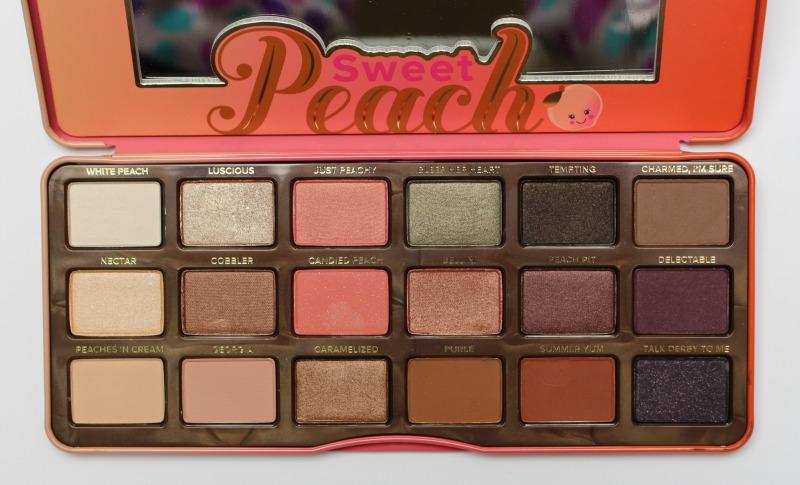 Palette Sweet Peach de Too Faced